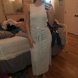 River island grey dress